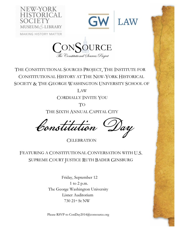 Sixth Annual Capital City Constitution Day Celebration 3